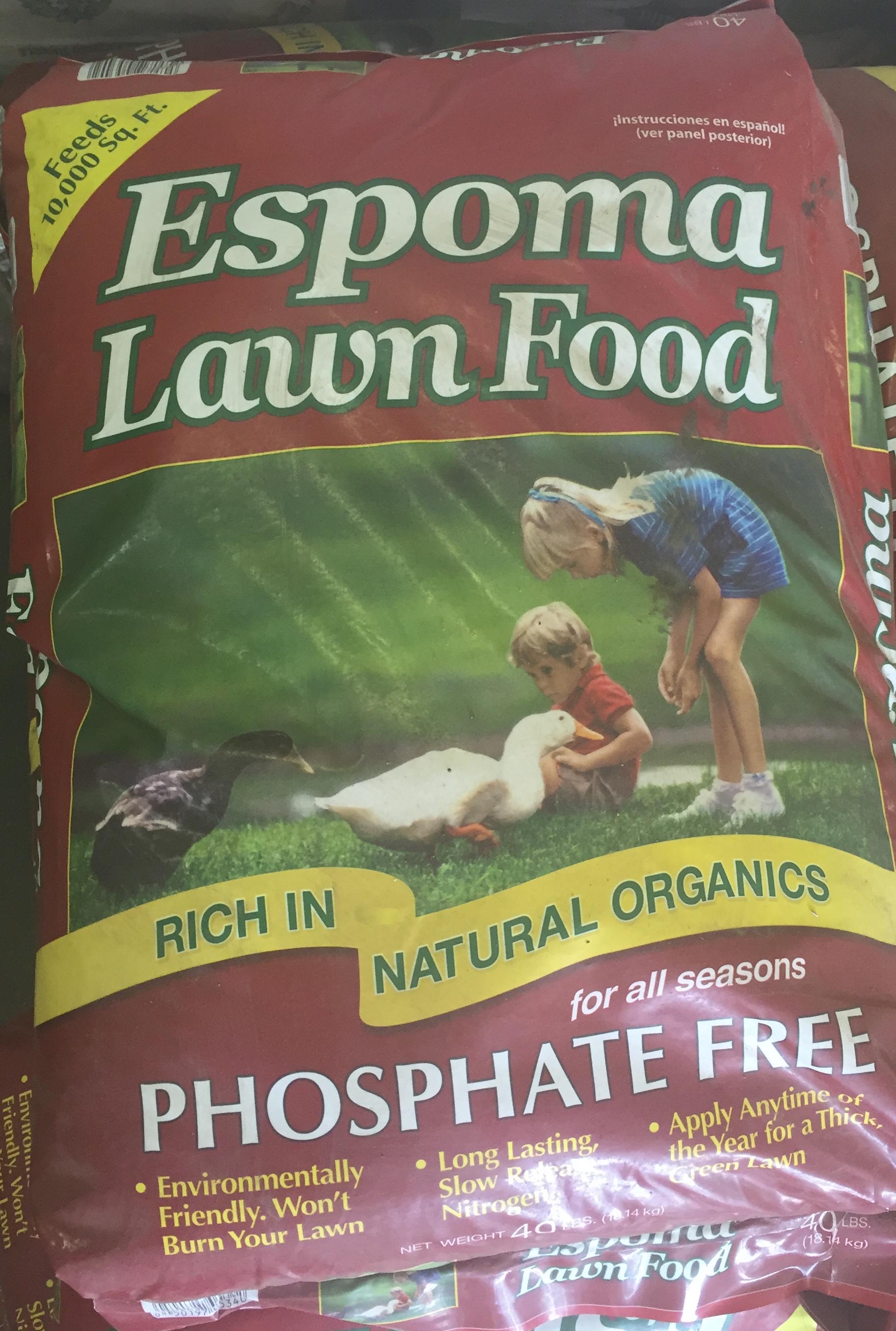 Espoma Lawn Food Phosphate Free
